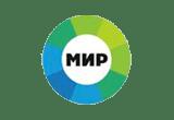 Логотип канала МИР