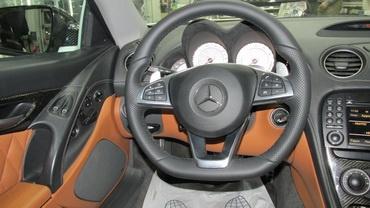 Установка современного руля и Comand ntg 2,5 в Mercedes-Benz SL w230