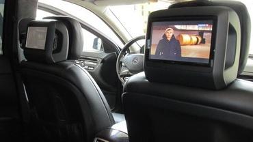 Установка цифрового телевидения в Mercedes w221 S-class
