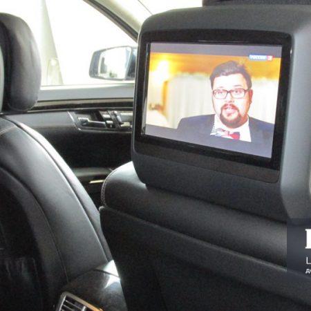 Цифровое телевидение в Mercedes S-класс w221 управление с штатного пульта