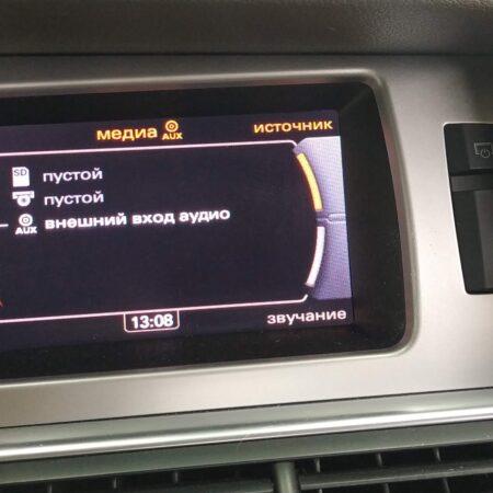 Bluetooth для передачи музыки Audi Q7 MMI 3G