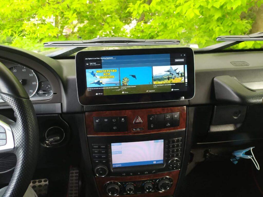 дисплей Mercedes w463