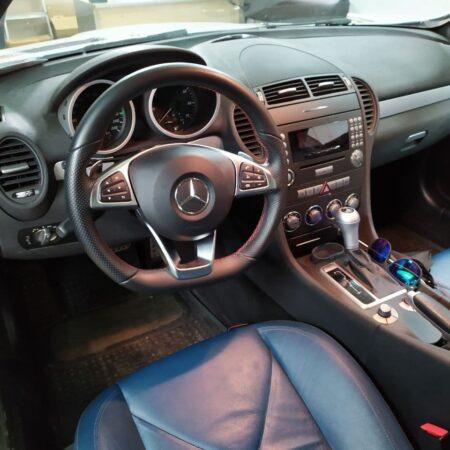 Замена руля на Mercedes-Benz SLK R171