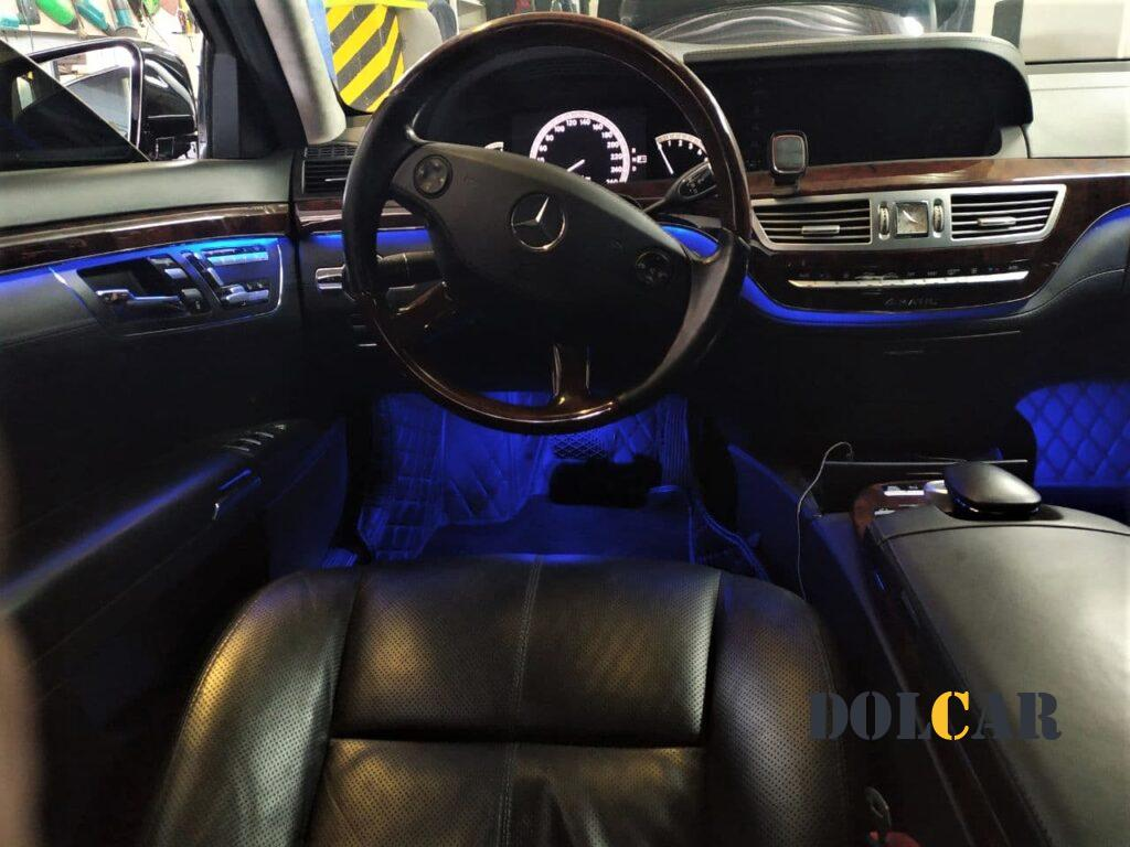 ambient lighting Mercedes