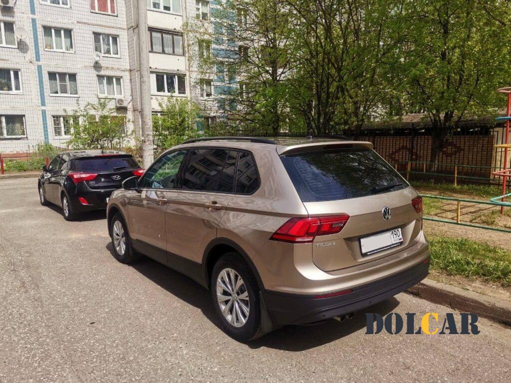 VW Tiguan тонировка