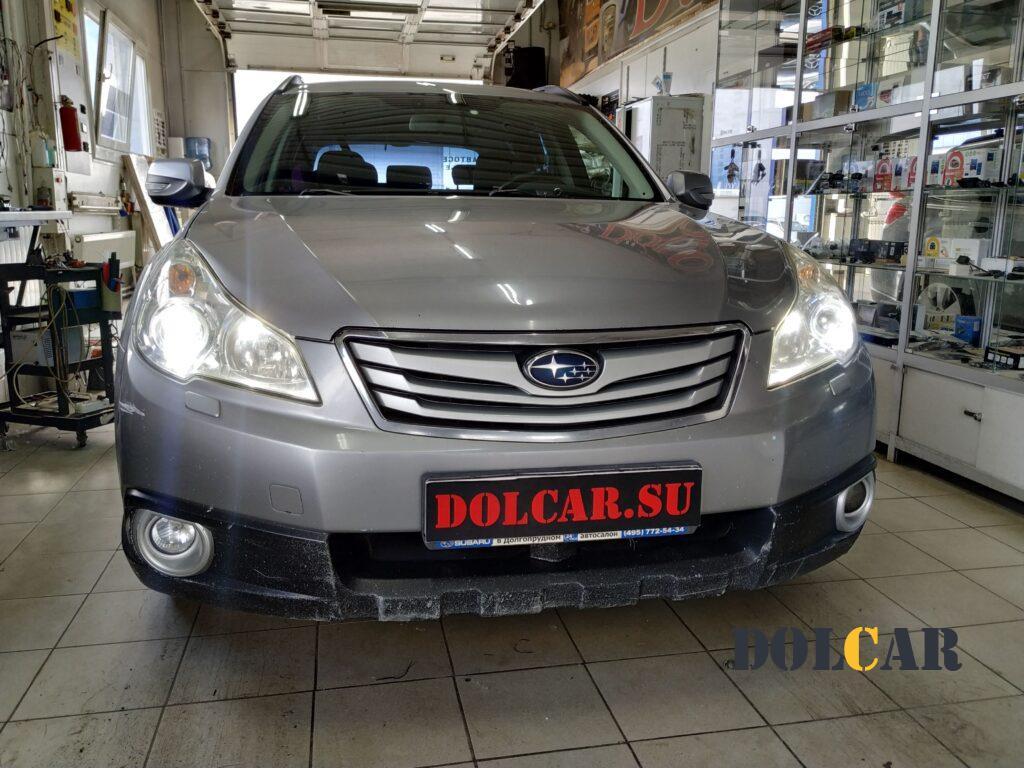 ремонт фар Subaru