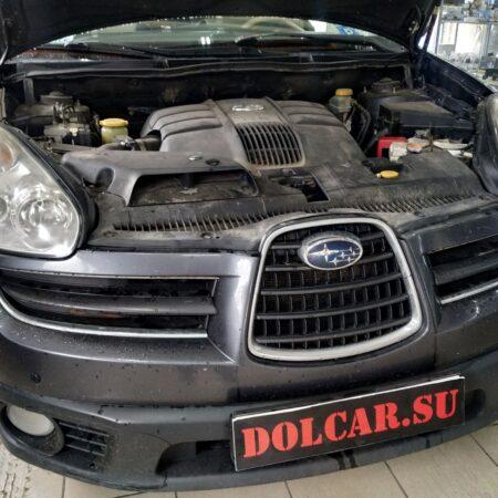 Замена линз и полировка фар Subaru Tribeca