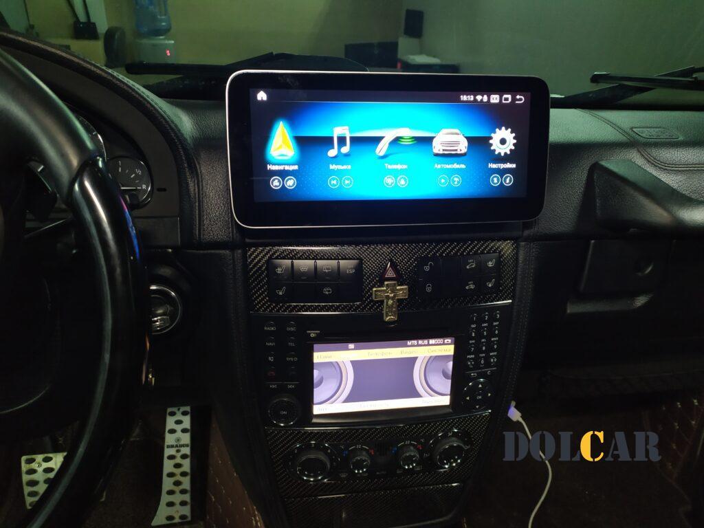 монитор Mercedes w463