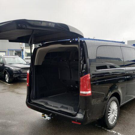 Mercedes Vito w447. Установка электропривода крышки багажника