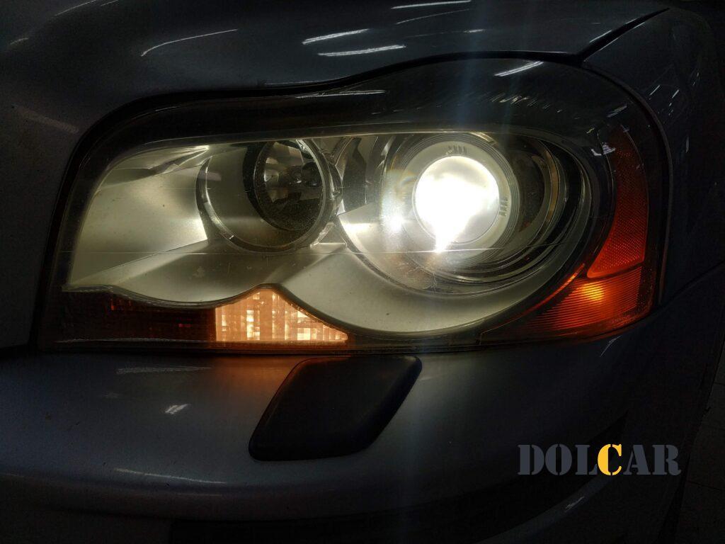 замена линз Volvo