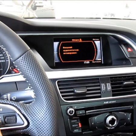 Цифровое тв и разнесенный видеорегистратор в Audi A5