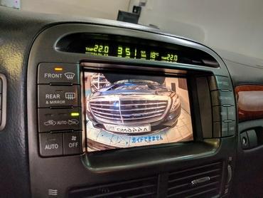 Установка штатной магнитолы и камеры в Lexus LS 430