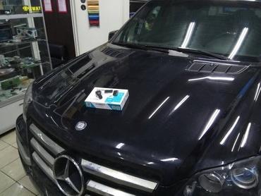 Автозапуск Мерседес с телефона и штатного ключа