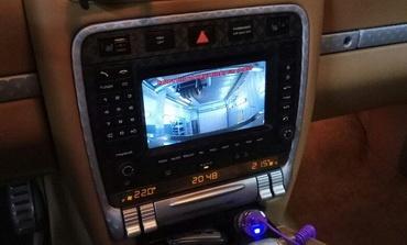 Установка штатной камеры заднего вида Porsche Cayenne