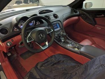 Установка руля от Mercedes-Benz w205