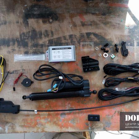 Установка электропривода крышки багажника на Ауди А6