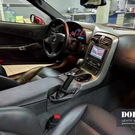 Распайка аукс-входа и установка блютуз в Chevrolet Corvette