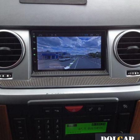 Магнитола на Android, камера в Land Rover Discovery