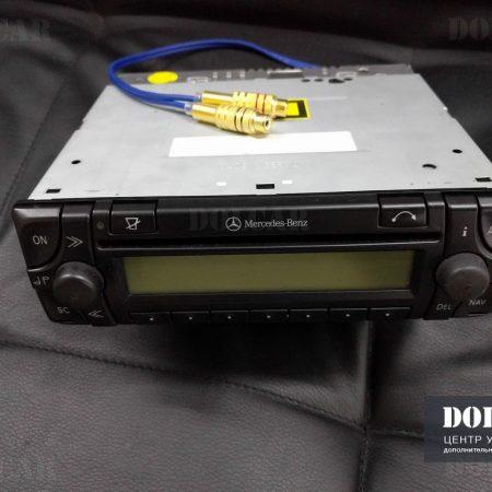 Mercedes w129. Установка bluetooth-аудио и распайка aux входа