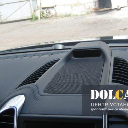 Нестандартная установка антирадара (GPS) в Porsche Cayenne